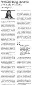 14 - Autoridade para a prevenção e combate à violência no desporto (APCVD)