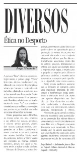 8 - Artigo - Ética no desporto.