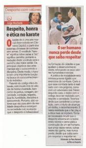 Respito, honra e ética no karate